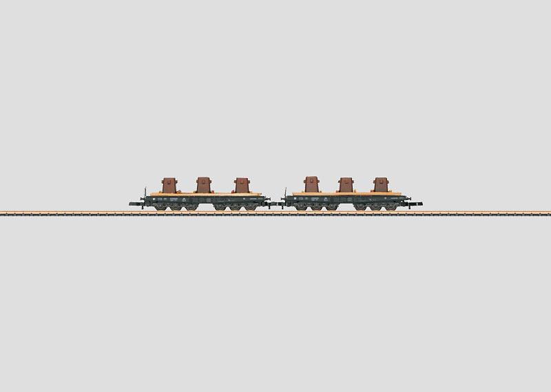 Schwerlastwagen-Set.
