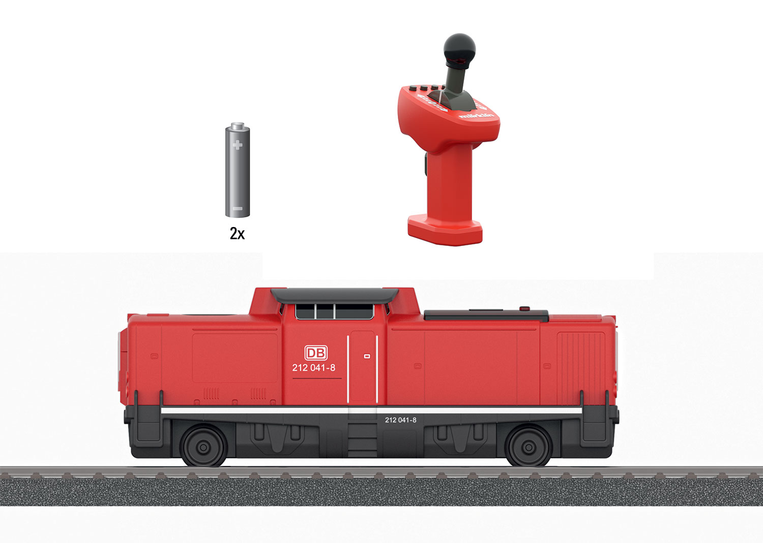 Märklin my world – Class 212 Diesel Locomotive with a Rechargeable Battery