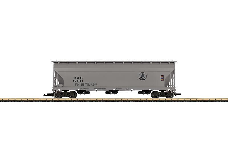 Baltimore & Ohio Center Flow Hopper Car