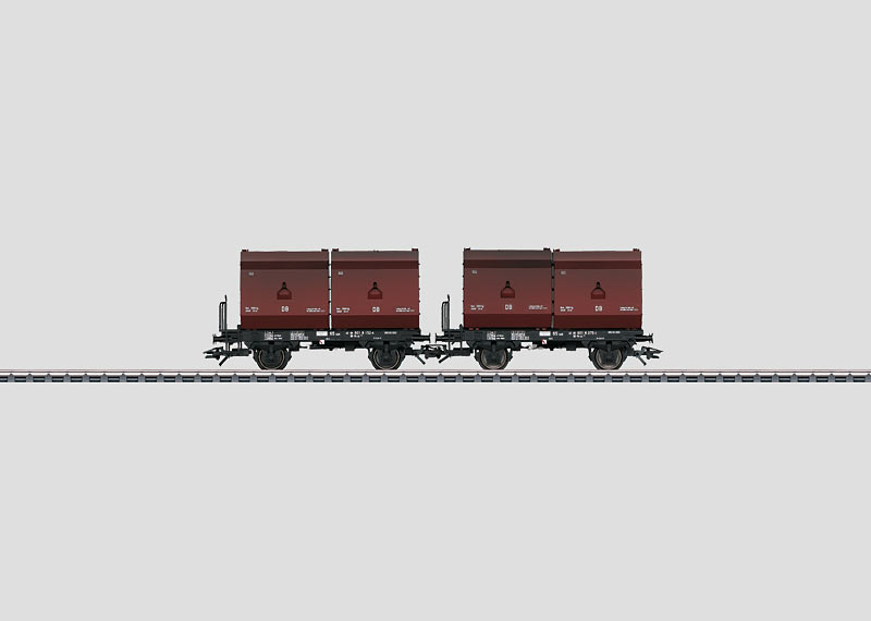 Set with 2 Container Cars.