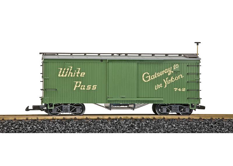White Pass Güterwagen #742