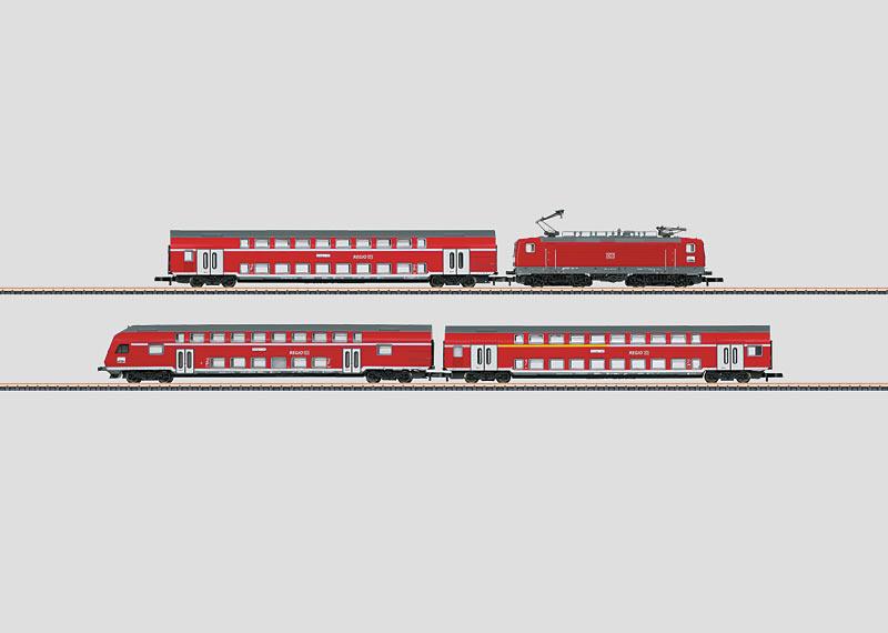 German Railroad, Inc. (DB AG) Commuter Train.