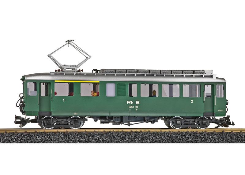 RhB Class ABe 4/4 33 Powered Rail Car