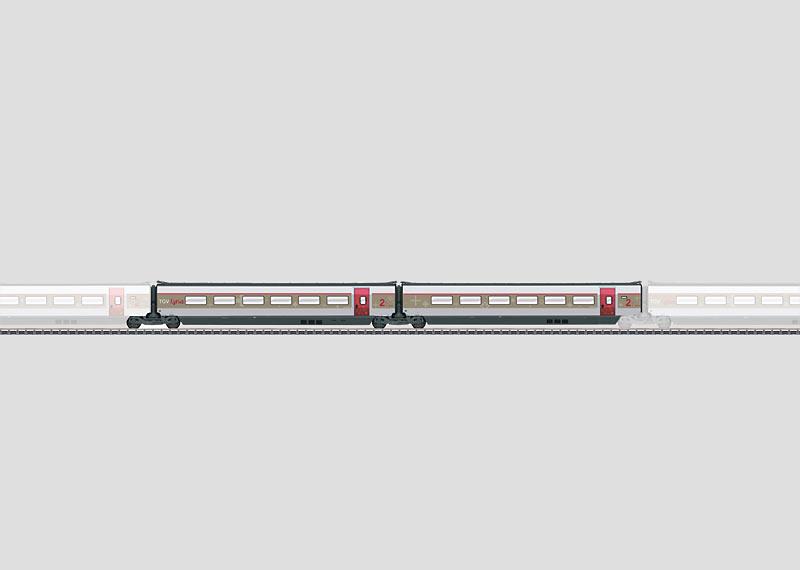 Add-On Car Set 2 for the TGV Lyria.