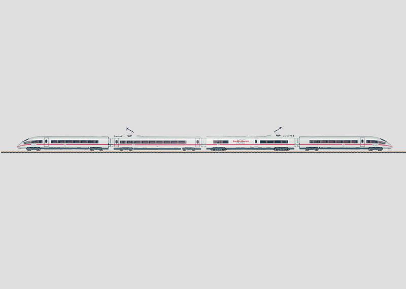 Hochgeschwindigkeits-Triebzug.