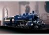 Schnellzuglokomotive mit Schlepptender.