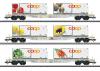 """Set containerwagens """"Coop"""""""