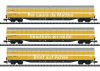 High-Capacity Sliding Wall Boxcar Set