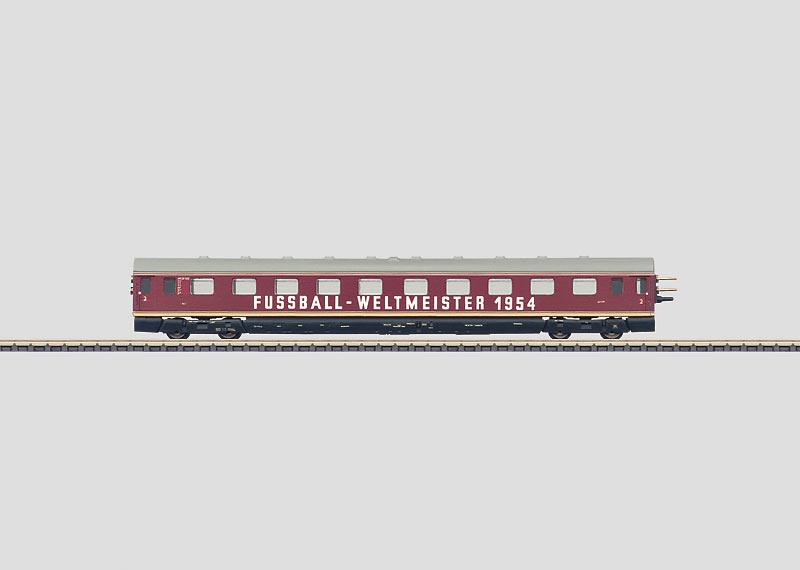 Powered Rail Car Train Intermediate Car.