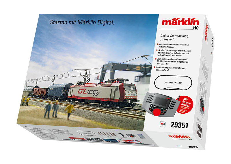 "Digital-Startpackung ""Benelux"". 230 Volt"