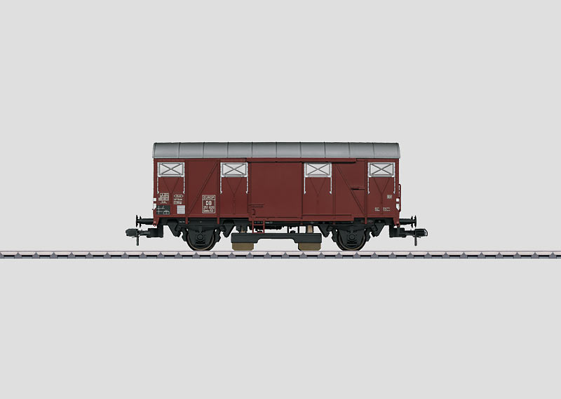 Freight Car with Track Cleaning Equipment.