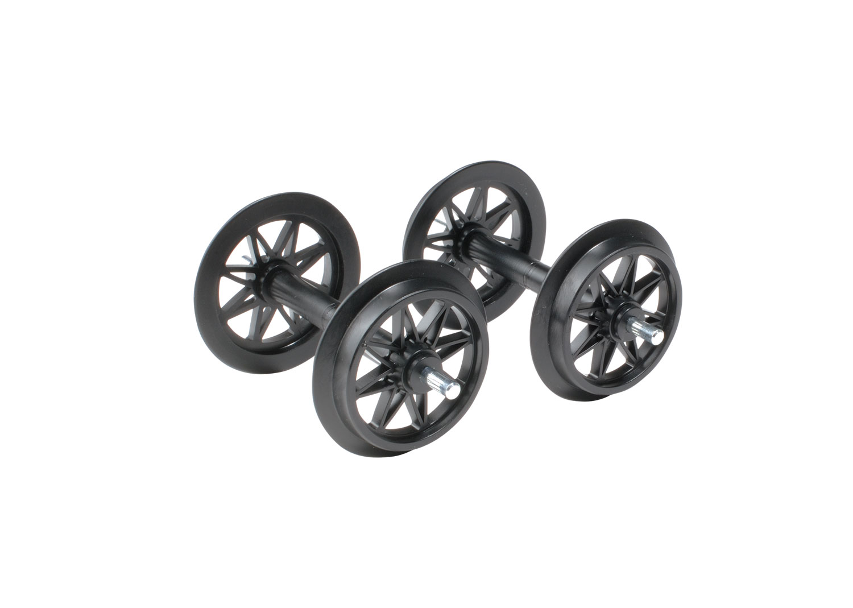 Plastic Double-Spoked Wheel Sets, 2 Pieces