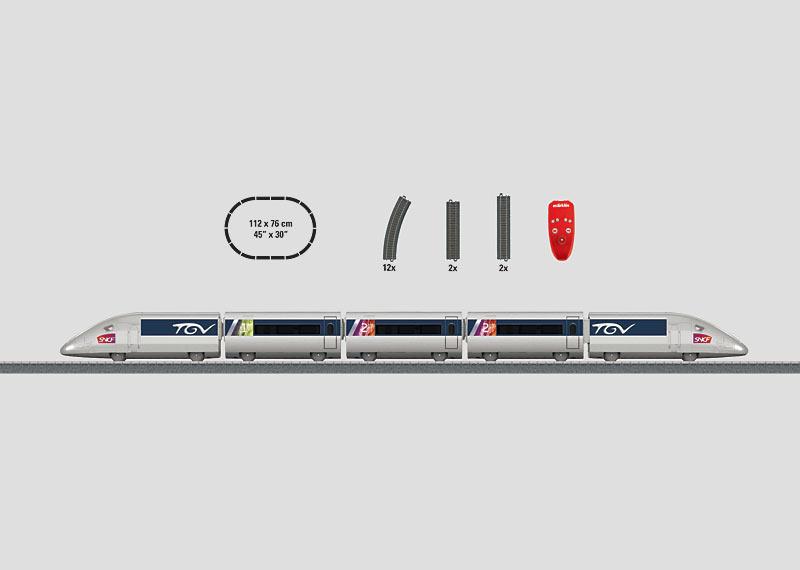 """Startpackung """"TGV"""". (Batterie)"""