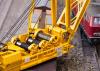Wagen-Set mit Kranwagen Bauart 100 und Auslegerschutzwagen Bauart 817