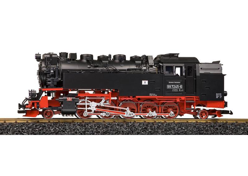 DR Steam Locomotive Road No. 99 7245-6, with Sound