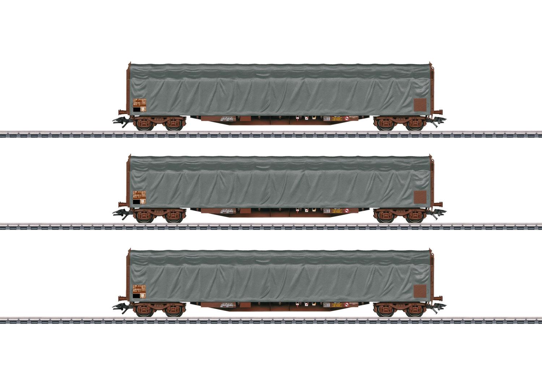 Type Rils Sliding Tarp Car Set