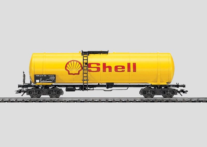 Mineralöl-Kesselwagen