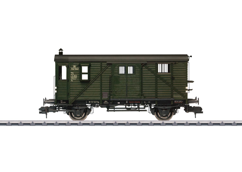 Type Pwg Pr 14 Freight Train Baggage Car
