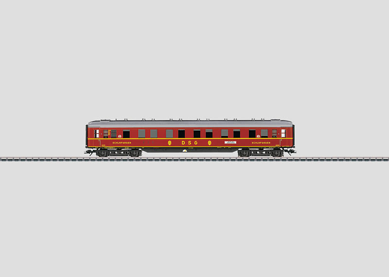 DSG Express Train Sleeping Car.