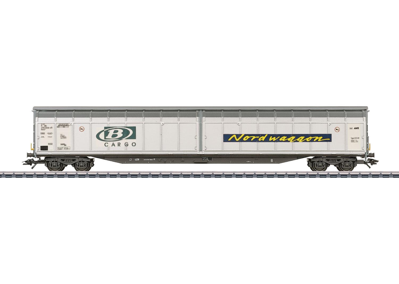 Type Habbins High-Capacity Sliding Wall Boxcar