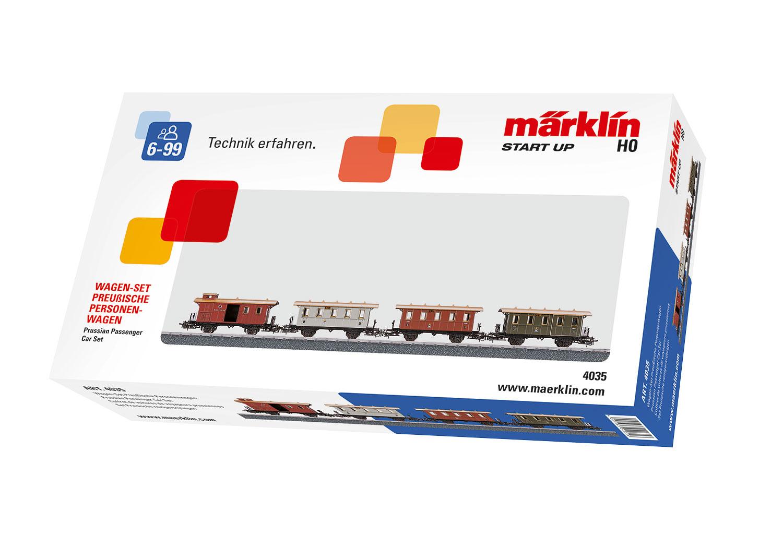 Märklin Start up - Wagen-Set Preußische Personenwagen