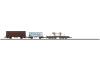 Güterwagen-Set. Bestehend aus 3 verschiedenen Wagen