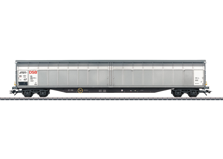 Type Habbillns High-Capacity Sliding Wall Boxcar
