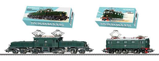 Coffret de deux locomotives électriques