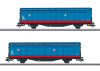 Two Type Hbbillns Sliding Wall Boxcars