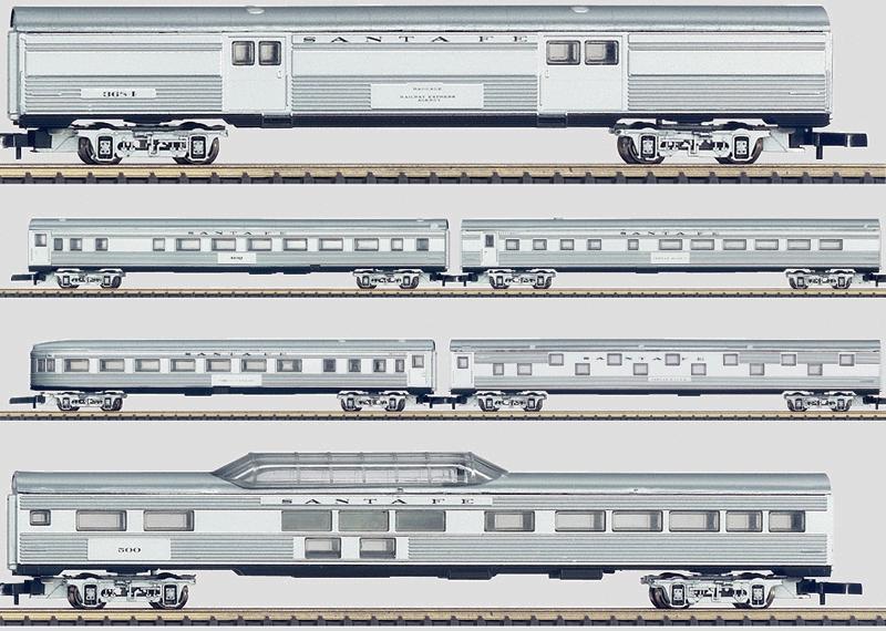 US-Wagen-Set.