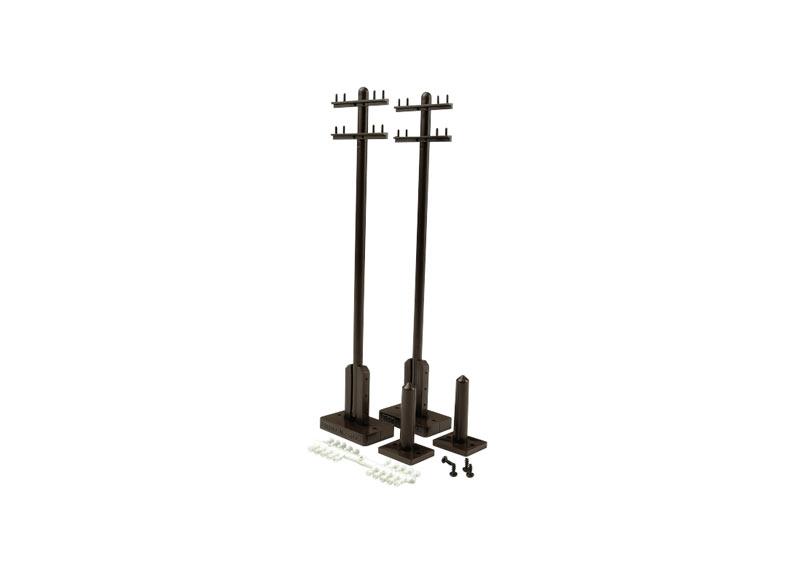 Telegraph Poles, 2 pieces