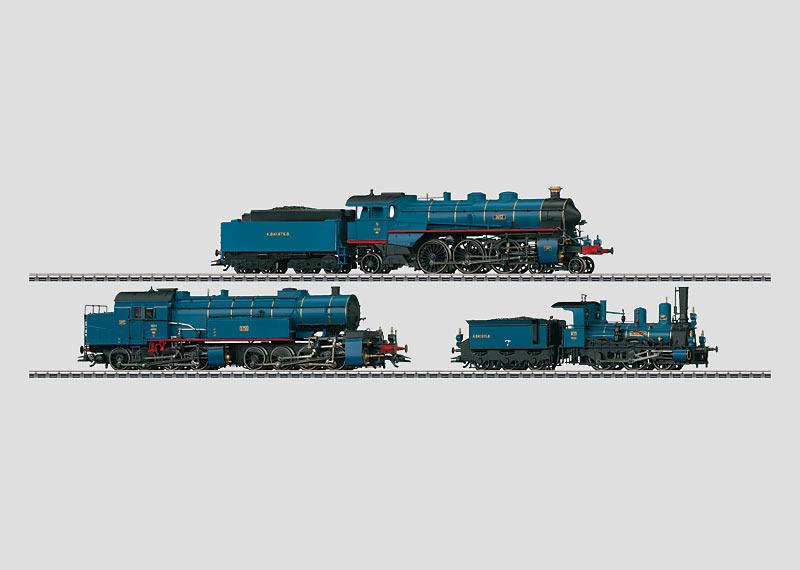 """Stars of the Royal Bavarian State Railroad (K.Bay.Sts.B.)"" Steam Locomotive Set."