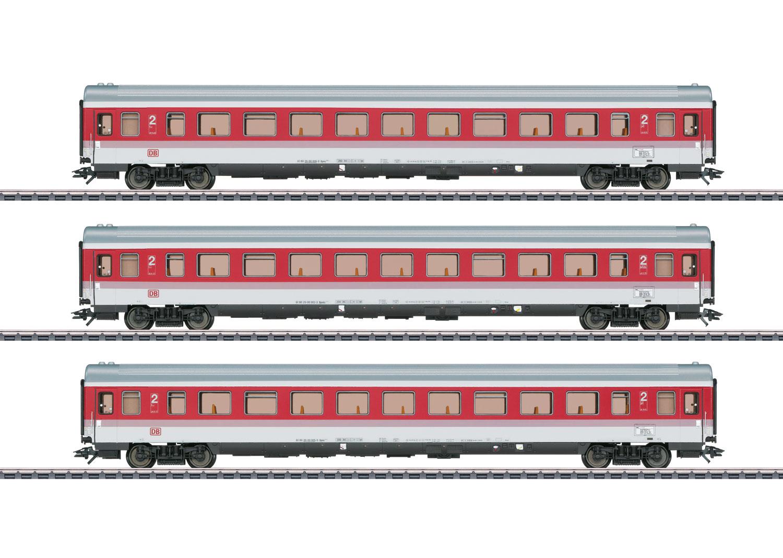 EC Tiziano: Schnellzugwagen-Set
