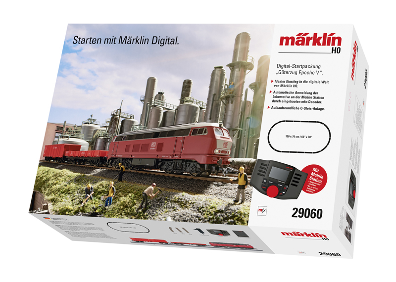 "Märklin Start up – Digital-Startpackung ""Güterzug Epoche V"". 230 Volt"