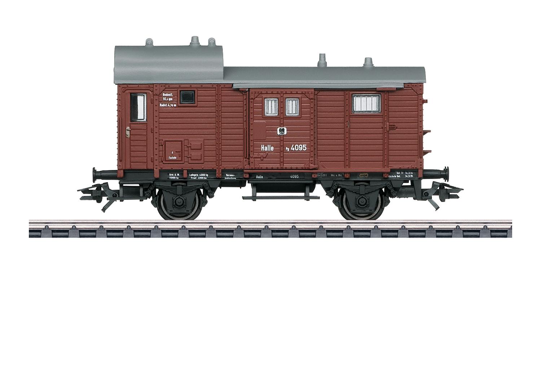 Güterzug-Gepäckwagen