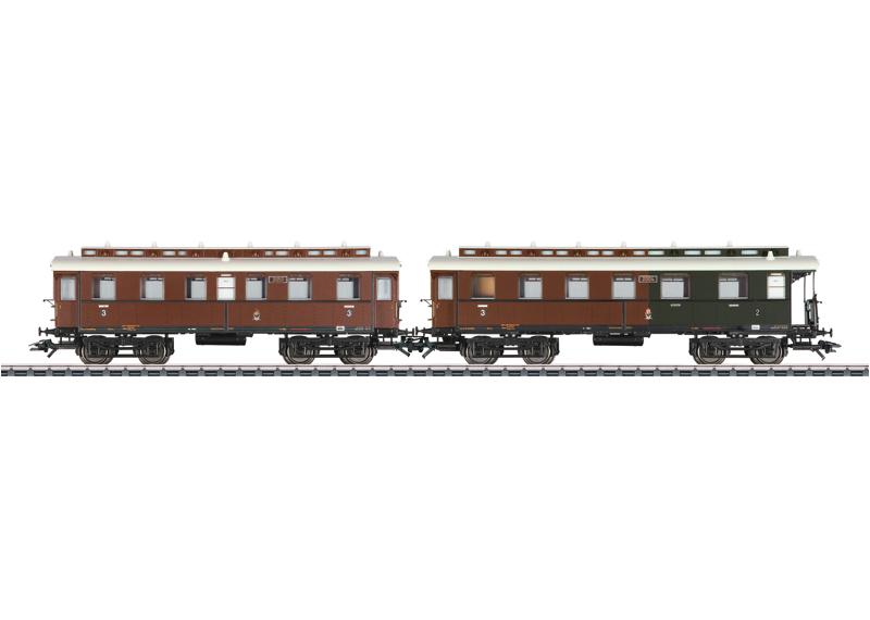 Branch Line Car Set 2