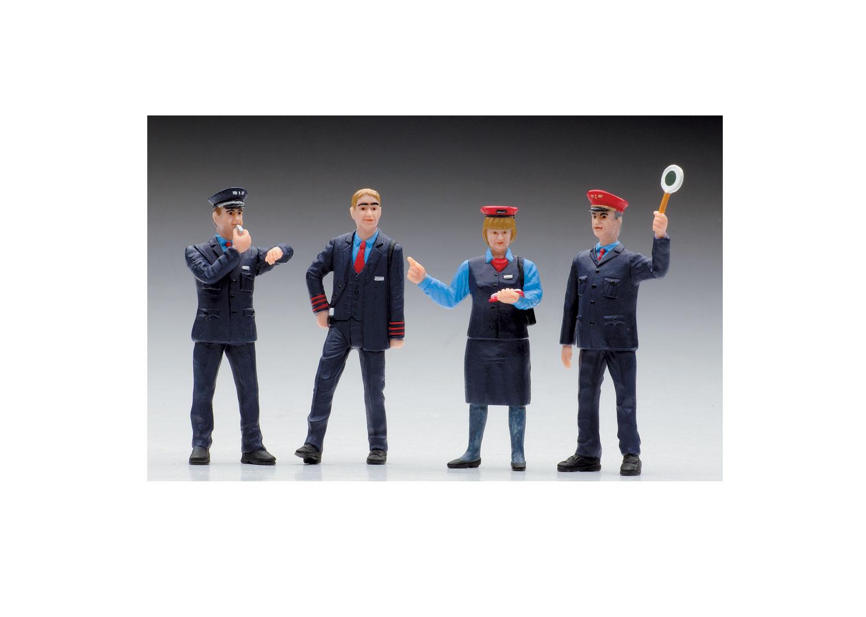 Swiss Railroad Worker Figures