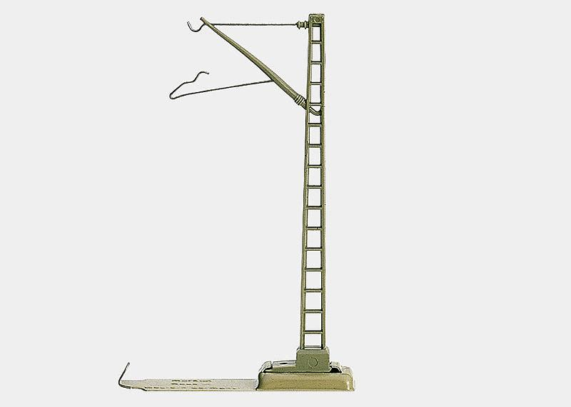 Mast für Fahrleitung