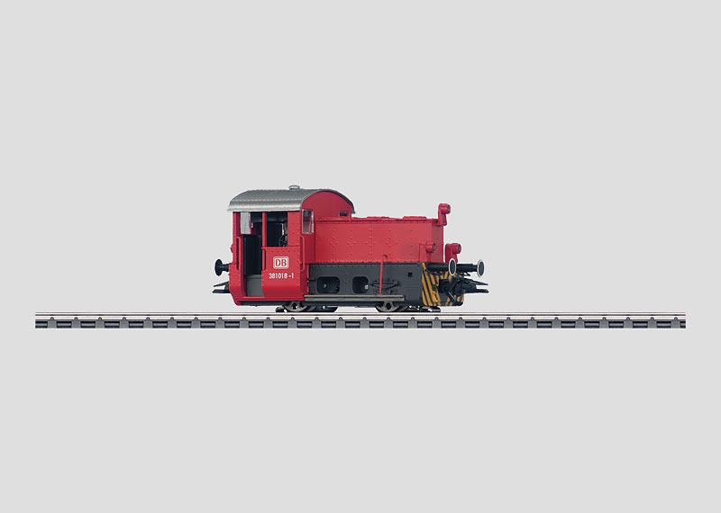 Locomotive with Storage Batteries.