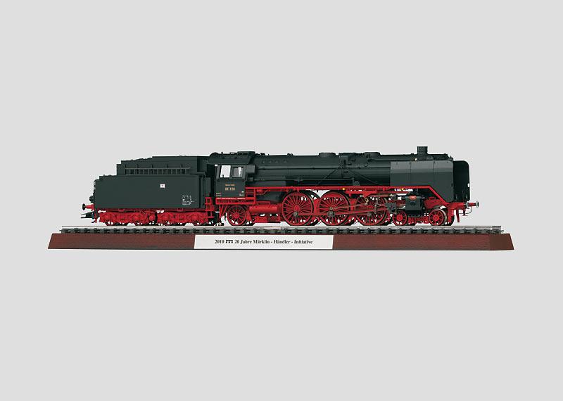 Schlepptender-Schnellzuglokomotive BR 01 118.