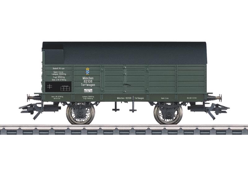 Peat Supply Car