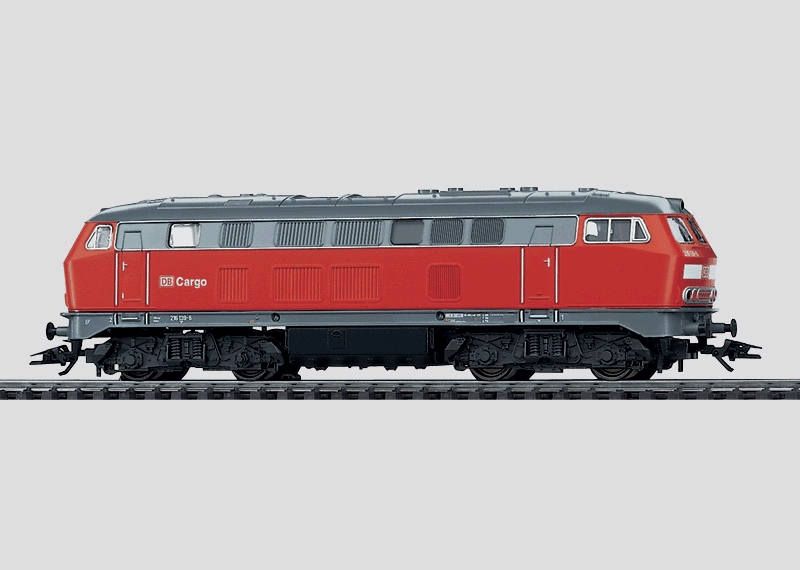 Diesel Hydraulic Freight Locomotive.