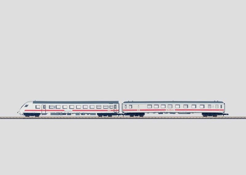 Schnellzugwagen-Set.