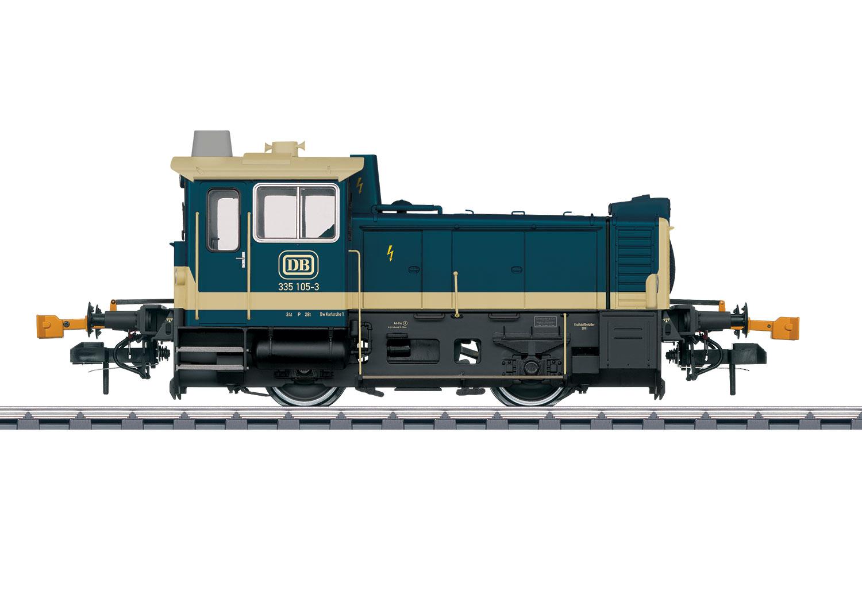 Dieselkleinlokomotive Baureihe 335
