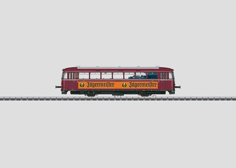 Jägermeister Rail Bus.