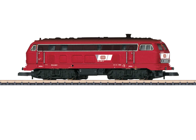 Diesel Locomotive Road Number 218 286-3
