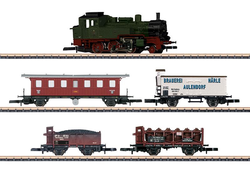 """Zugpackung """"175 Jahre Eisenbahn in Württemberg"""""""