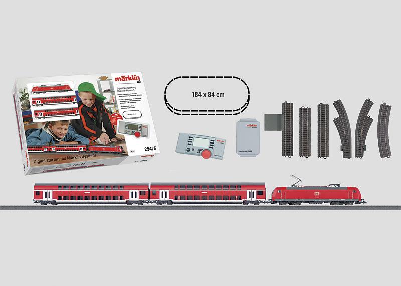 "Digital-Startpackung ""Regional-Express"" 230 Volt."