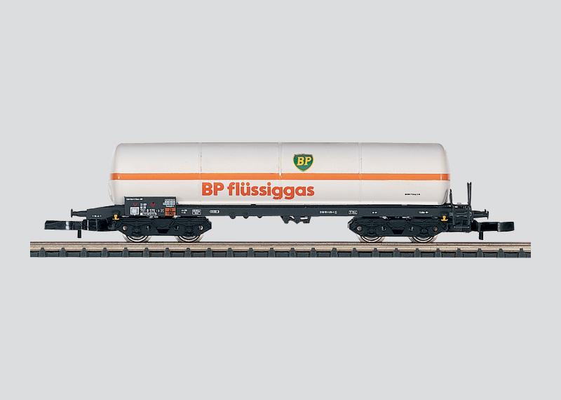 Druckgas-Kesselwagen ohne Sonnenschutzdach