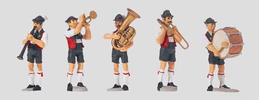 "Set figuren ""Muziekkapel""."